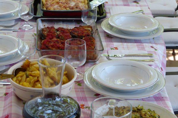 pranzo dal laboratorio di cucina