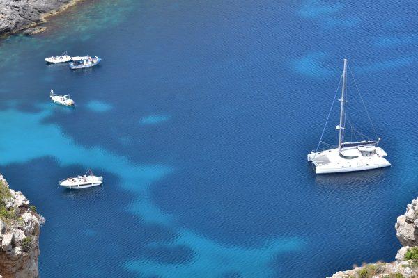 isola di marettimo in barca a vela