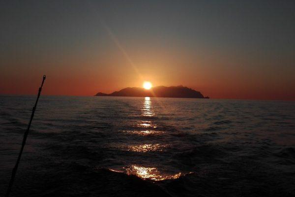 marettimo al tramonto